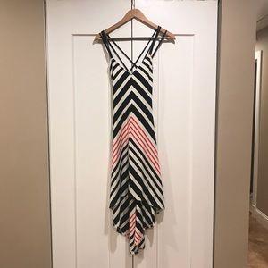 Bebe high low dress